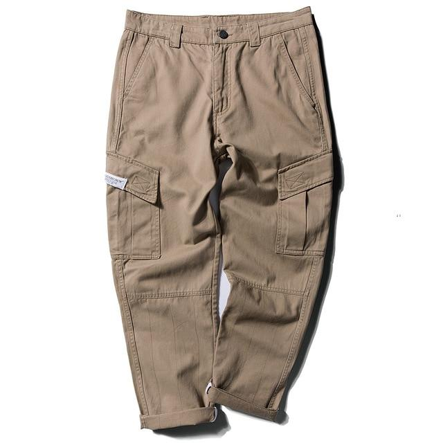 More Life Cargo Chino in Khaki or Black - CLOUT COLLECTION