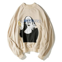 Material Life Casual Fleece Sweater - CLOUT COLLECTION