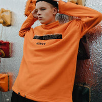 Money Theory Roll Neck Fleece Jumper - CLOUT COLLECTION