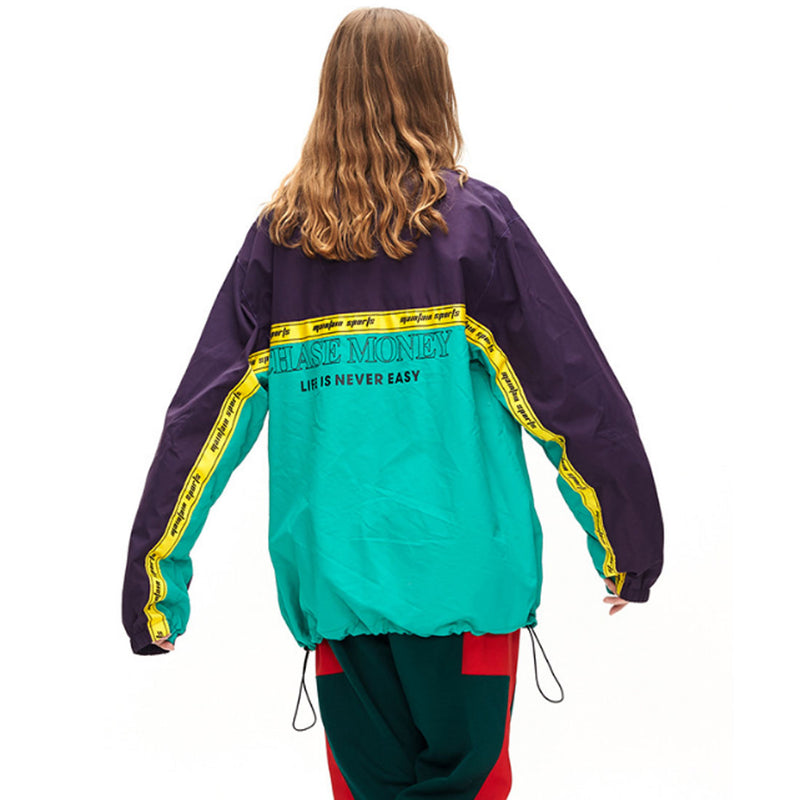 Submariner 'Chase Money' Half-Zip Windbreaker - Clout Collection High Fashion Streetwear Men's and Women's