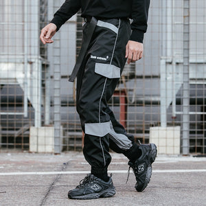 Extreme Aesthetic Multi-Pocket Joggers - Clout Collection High Fashion Streetwear Men's and Women's
