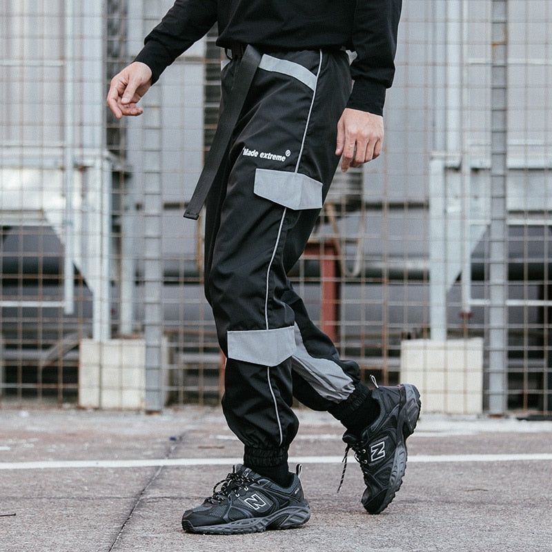 Extreme Aesthetic Multi-Pocket Joggers - CLOUT COLLECTION