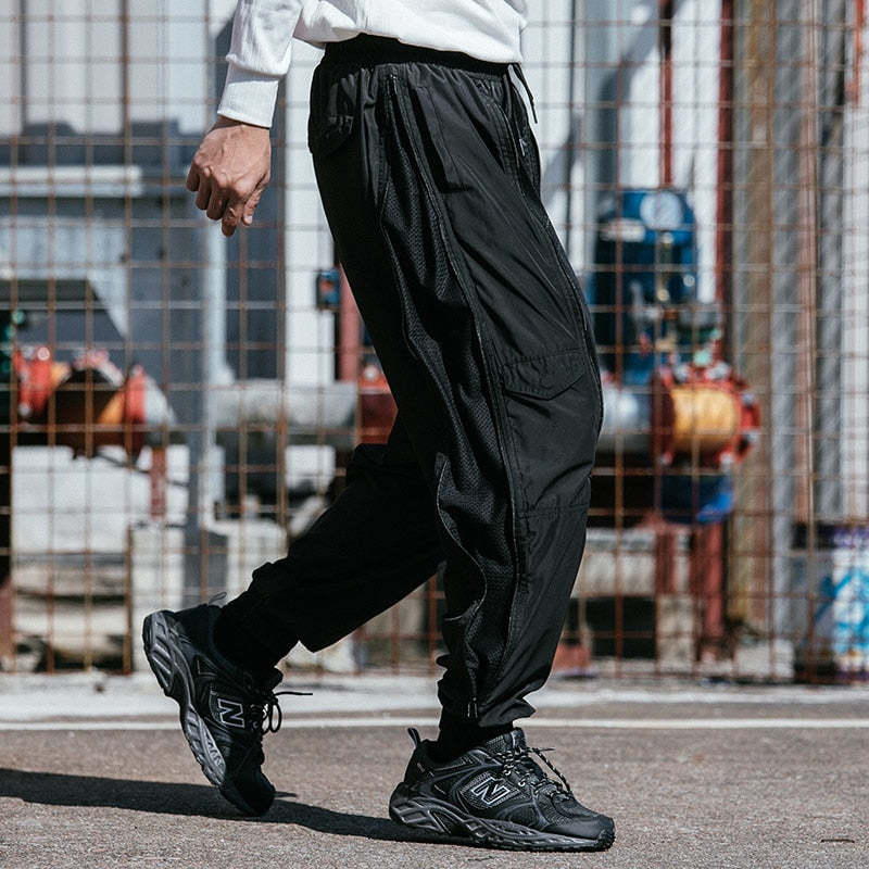 Elxtreme Aesthetic UltraLight Mesh Pants - Clout Collection High Fashion Streetwear Men's and Women's