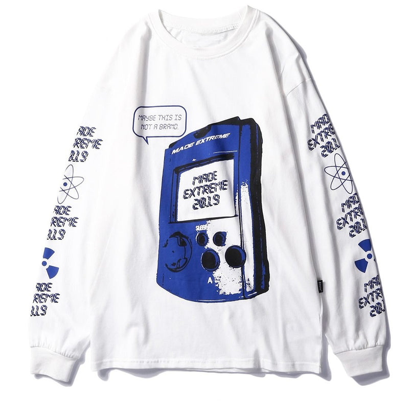 Made Extreme Gamer Long Sleeve Tee - Clout Collection High Fashion Streetwear Men's and Women's