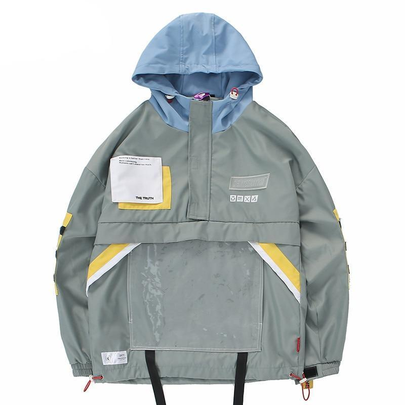 Disintegration 'D3' Overhead Windbreaker - CLOUT COLLECTION