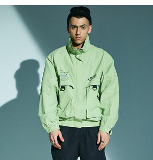 Fresh'Niss F.R.S. Windbreaker - Clout Collection High Fashion Streetwear Men's and Women's