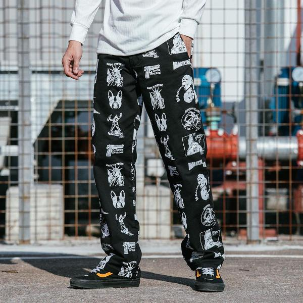 Extreme Aesthetic Casual Pants in Liberty Print - Clout Collection High Fashion Streetwear Men's and Women's