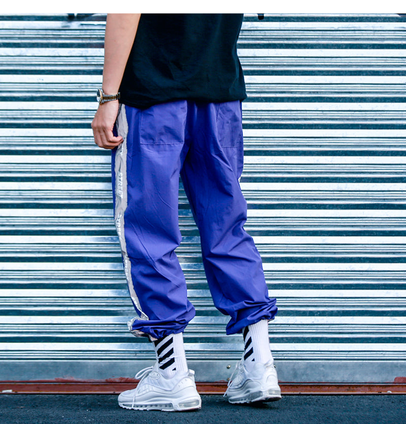 Street Track Pants in Multi-color - Clout Collection High Fashion Streetwear Men's and Women's