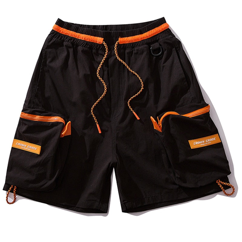 Crown Grade Athletic Cargo Shorts - CLOUT COLLECTION