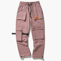 Genius Adjustable Track Pants - Clout Collection High Fashion Streetwear Men's and Women's