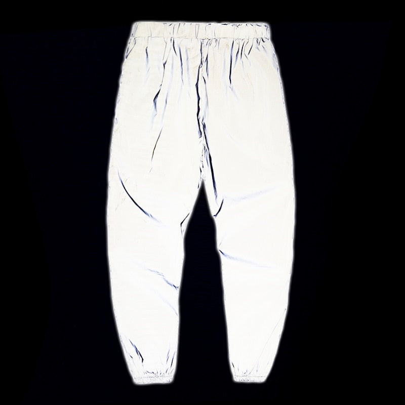 3M Reflective Tapered Utility Joggers - Clout Collection High Fashion Streetwear Men's and Women's