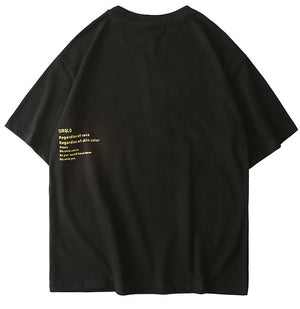 Golden Rule Graphic T-Shirt - CLOUT COLLECTION