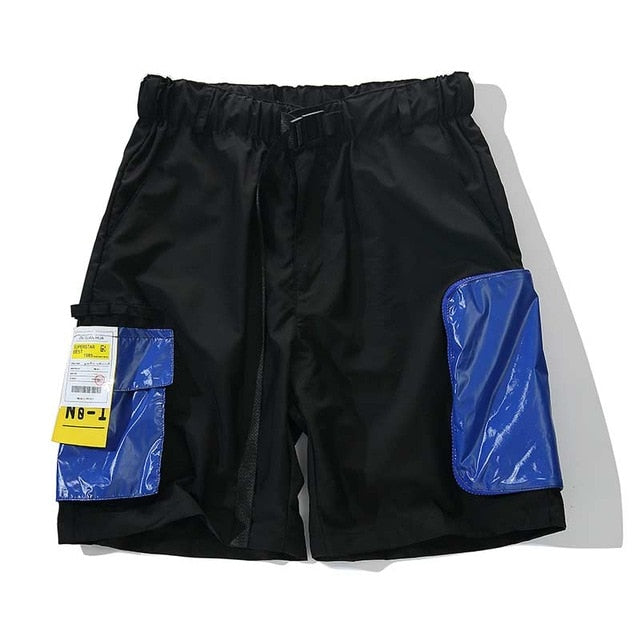 Multi-Pocket Belted Athletic Shorts - Clout Collection High Fashion Streetwear Men's and Women's