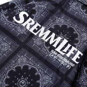 SremmLife Collared Windbreaker - Clout Collection High Fashion Streetwear Men's and Women's