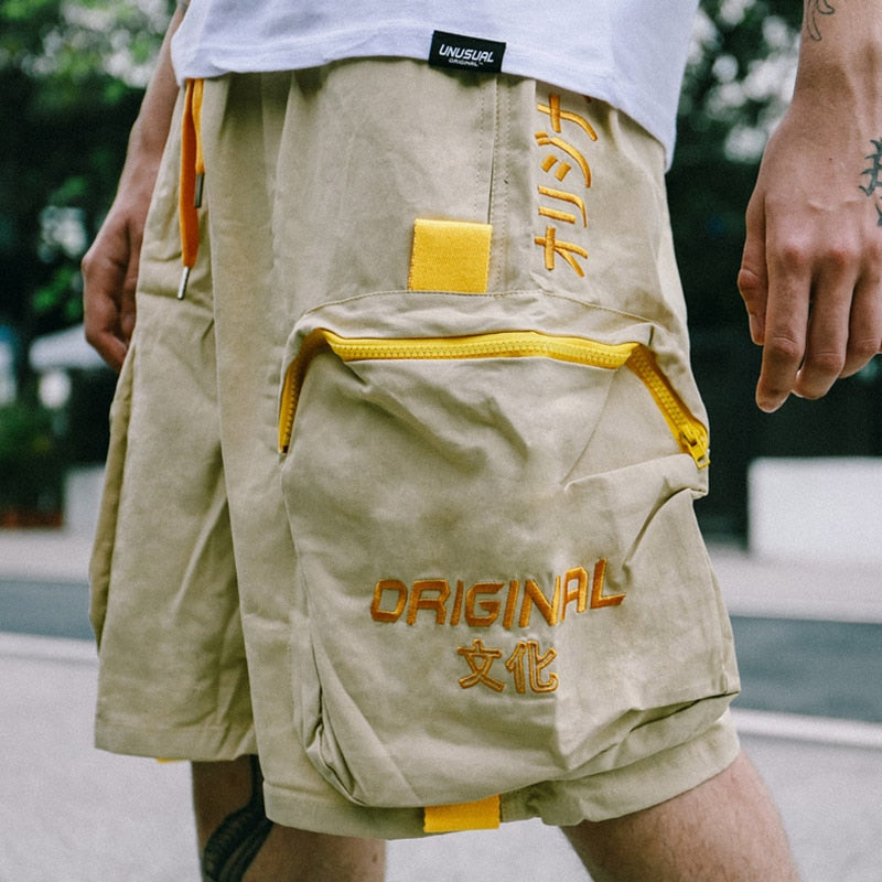 Unusual Original Dual Pocket Casual Shorts - CLOUT COLLECTION
