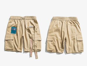 Disintegration Cargo Shorts - CLOUT COLLECTION
