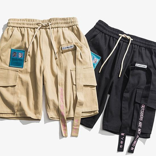 Disintegration Cargo Shorts - Clout Collection High Fashion Streetwear Men's and Women's