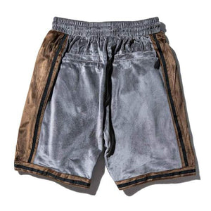 Editorial Department Suede Shorts
