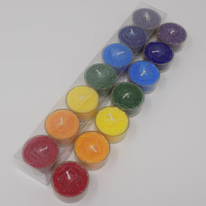 Tea Light Chakra Candles