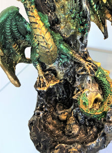 Dragon Waterfall Incense Burner