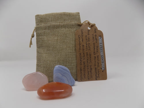 Reiki Charged 'Feel Good' Gemstone Set