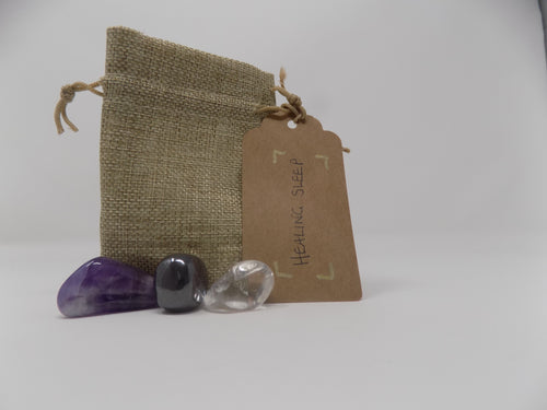 Reiki Charged 'Healing Sleep' Gemstone Set