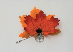 Autumn Leaf Pin