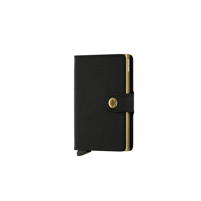 Secrid Mini Wallet Crisple Black/Gold