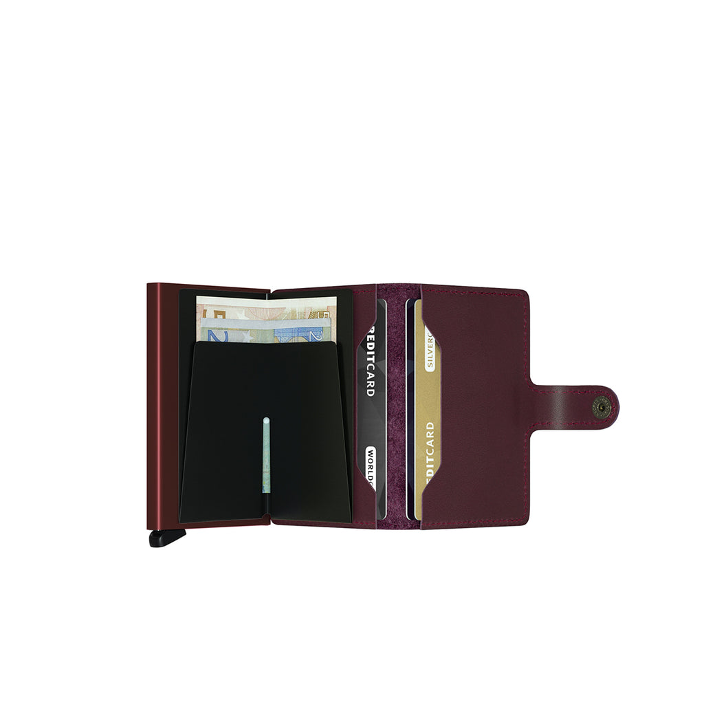 Secrid Mini Wallet Bordeaux