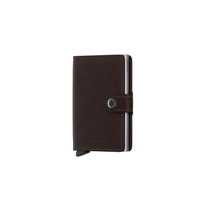 Secrid Mini Wallet Dark Brown