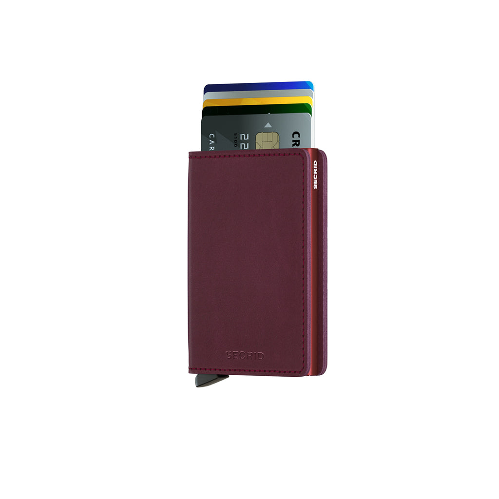 Secrid Slim Wallet Bordeaux