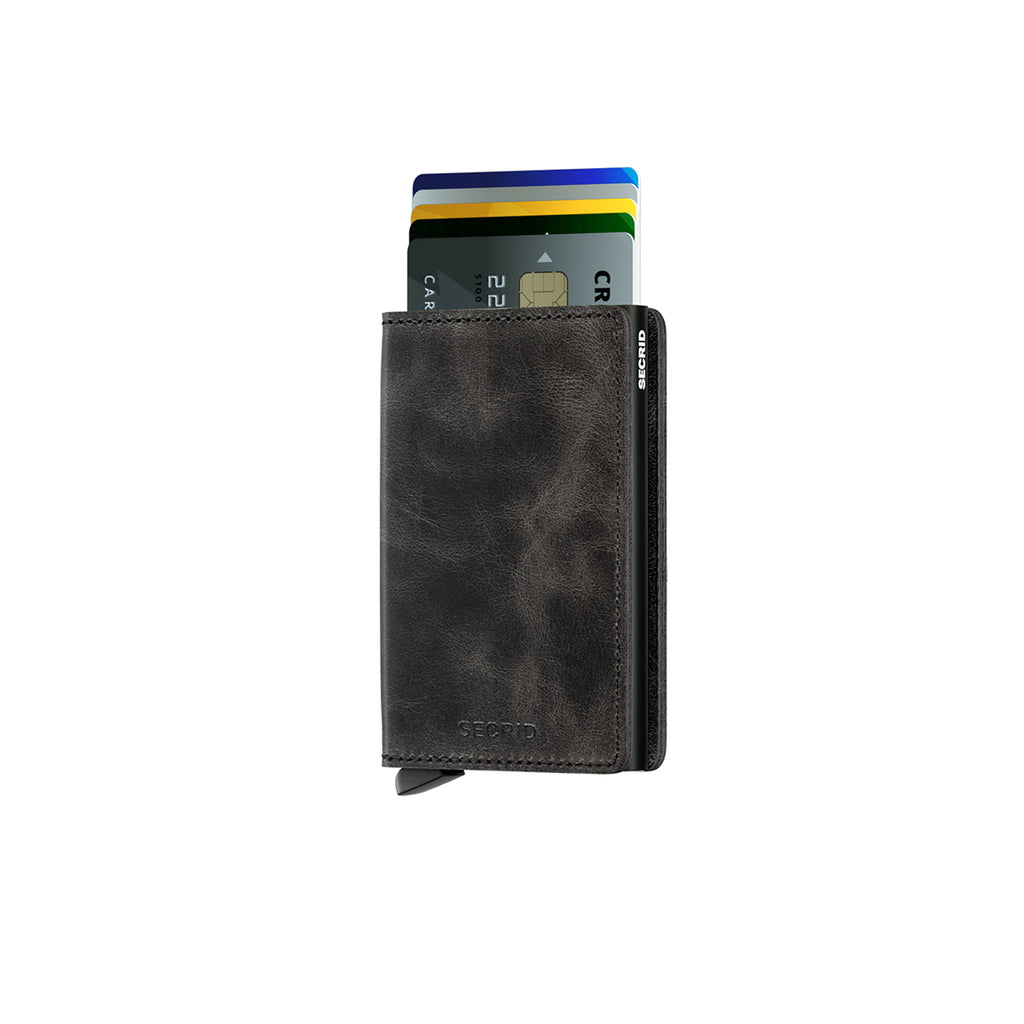 Secrid Slim Wallet Vintage Black