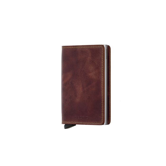 Secrid Slim Wallet Vintage Brown