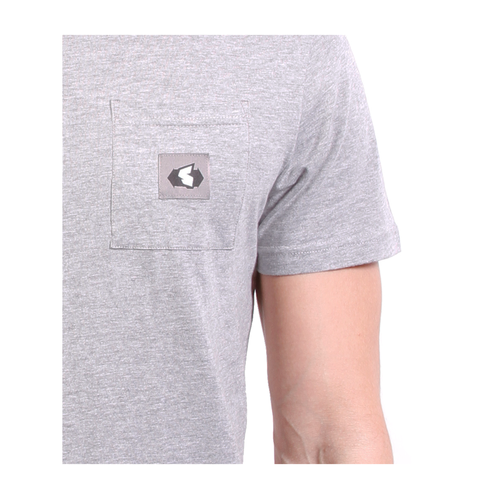 Station Pocket Grey Tee STN-POCKET