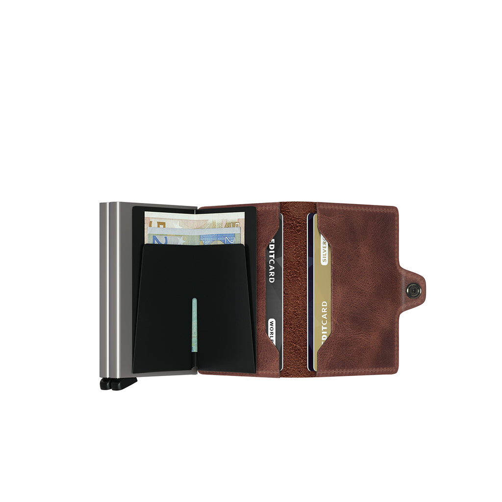 Secrid Twin Wallet Vintage Brown