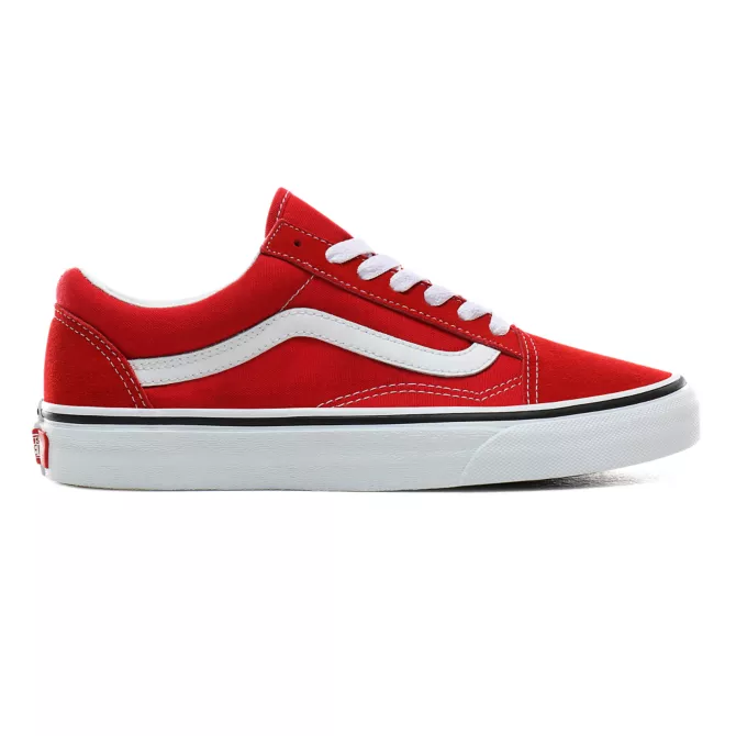 VANS OLD SKOOL RED/WHITE VN0A4BV5JV61