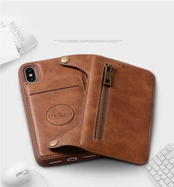 Luxury Leather Multi-functional Phone Case