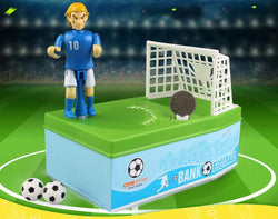 Soccer Kicking Coin Bank (Football)