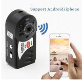 Mini Night Vision WiFi DVR Camcorder Motion Detection + Built-in Microphone