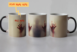 Zombie Heat Sensitive Mug