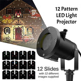 12 Pattern LED Light Projector
