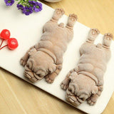 3D Cute Puppy Silicone Mold