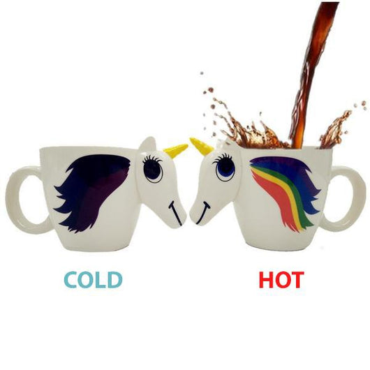 3D Colour Changing Unicorn Mug