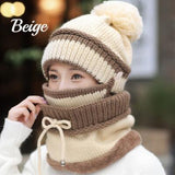 Winter Beanie, Mask and Scarf Set