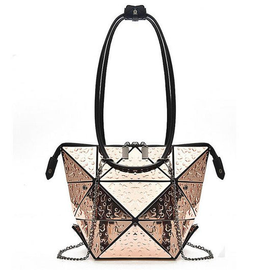 Geometric Transform Shoulder Bag