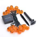 Solar LED Pumpkin Light