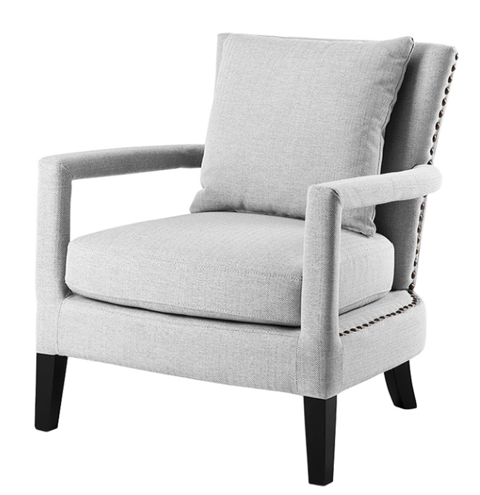 Magnificent Eichholtz Gregory Gray Lounge Chair Alphanode Cool Chair Designs And Ideas Alphanodeonline