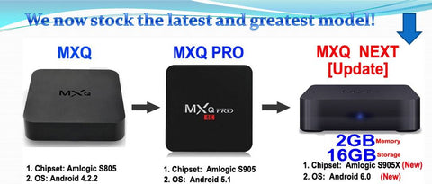 Android Tv Box 4k MXQ PRO