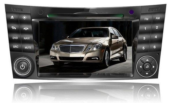MERCEDES E CLASS W 211 2002-2007 DVD GPS ENTERTAINMENT SYSTEM