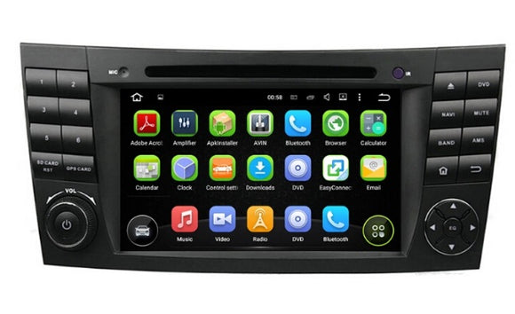 Android car dvd gps for Mercedes E Class W211  2002-2009